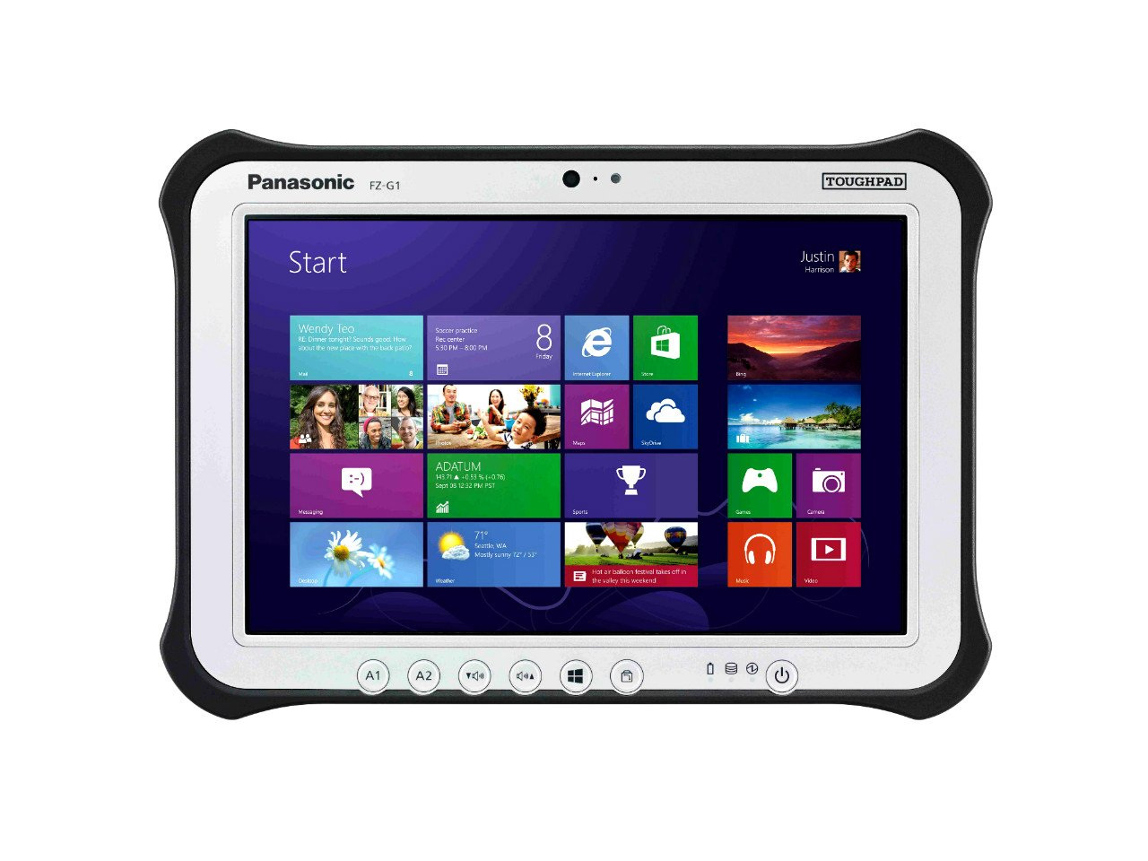 Panasonic Toughpad Fz G1 Rugged Tablet Astringo