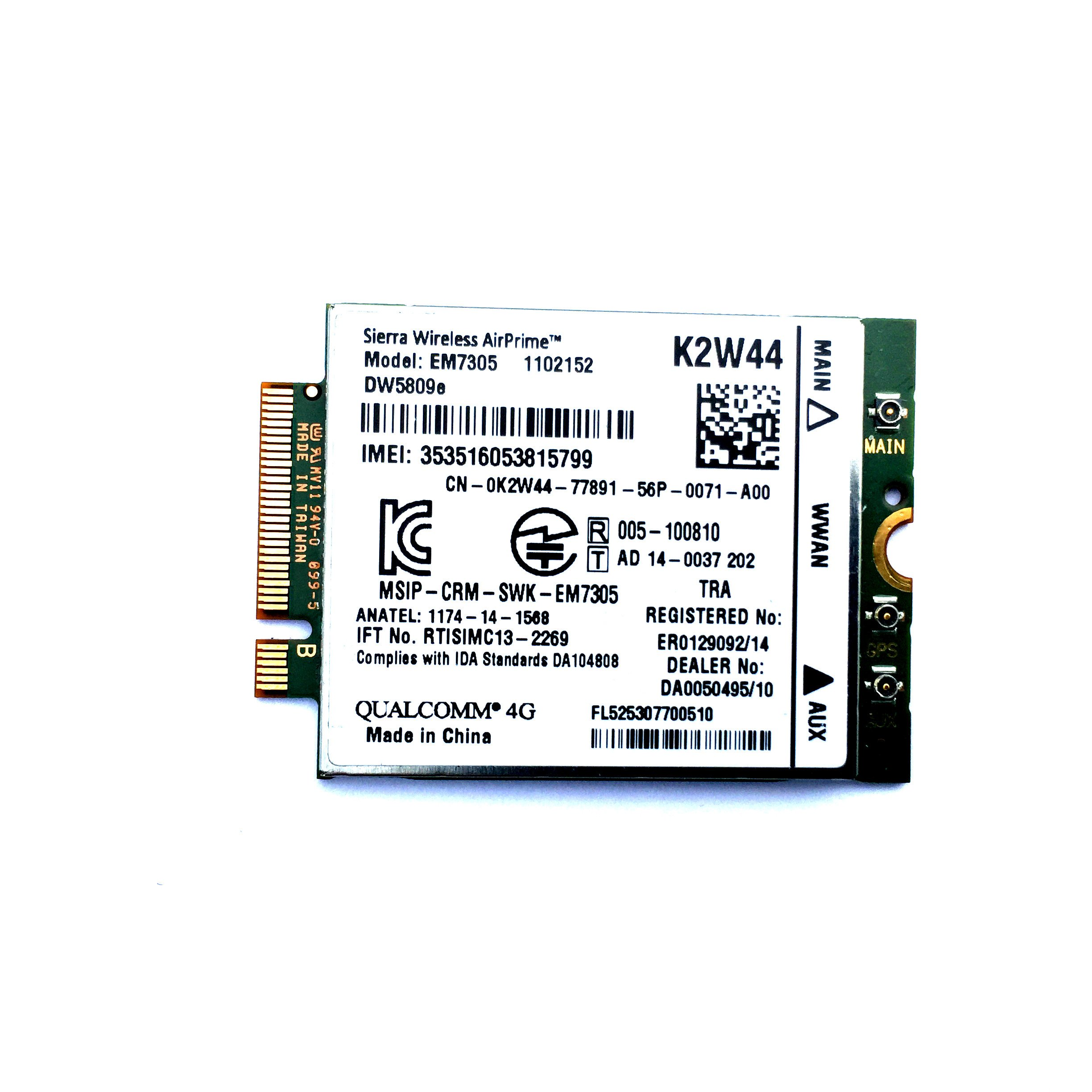 Dell 4g Wwan Card Dw5809e K2w44