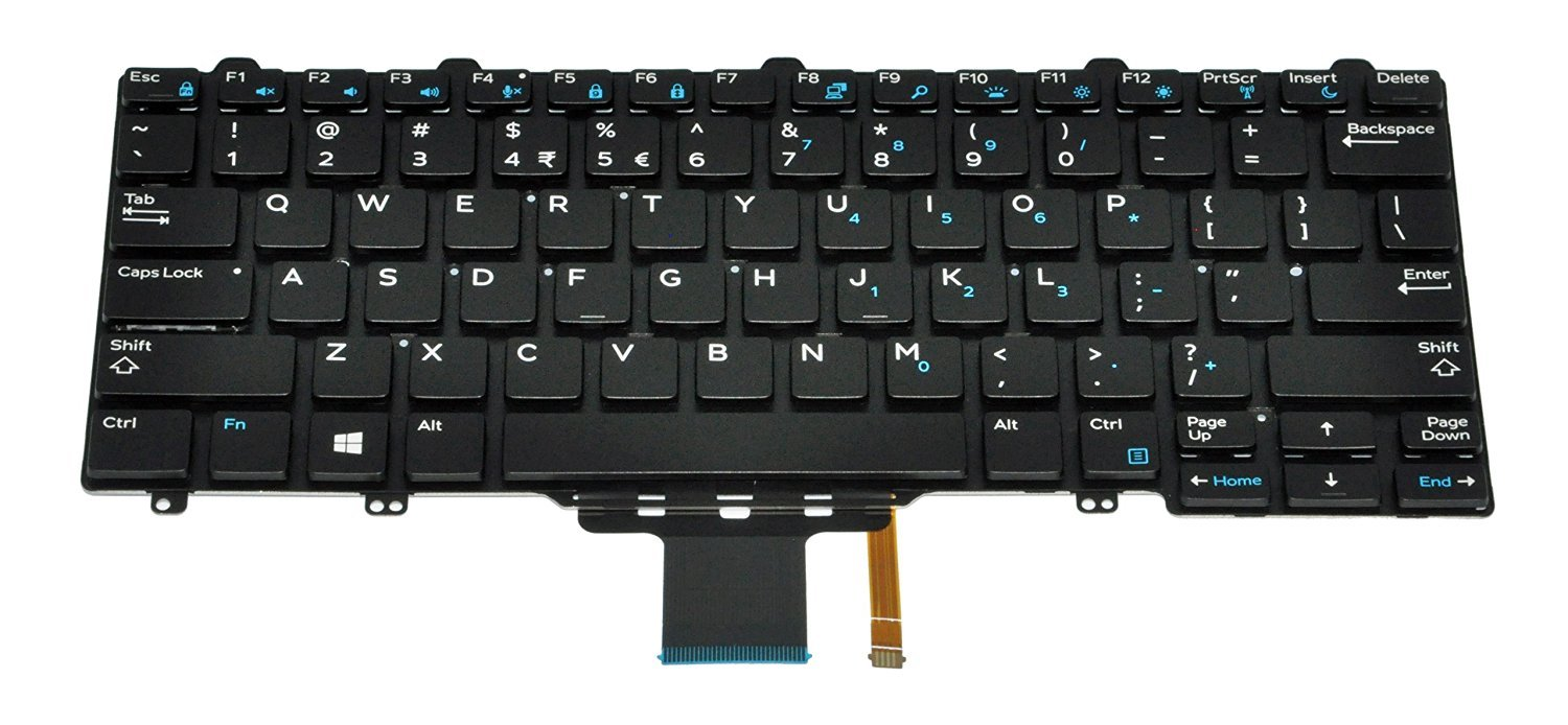Dell 62cm0 Latitude E7250 E5250 Us International Keyboard